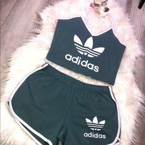 Adidas Two Piece Set (Grey)